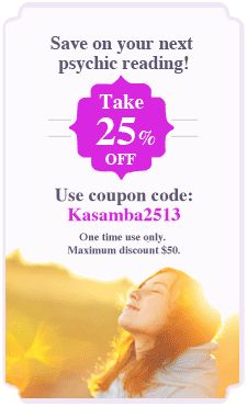 Get 25% Discount when you contact me now on Kasamba. Use coupon code Kasamba2513. Valid for one time only and maximum 50$ discount. Contact me at http://www.kasamba.com/psychic/valdene-love