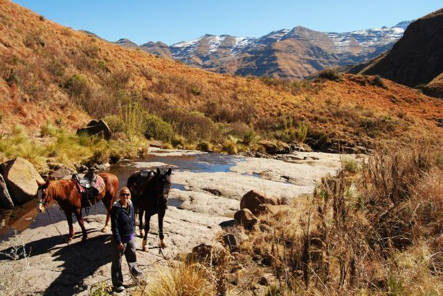Pony Trails at Maliba Lodge, Lesotho.