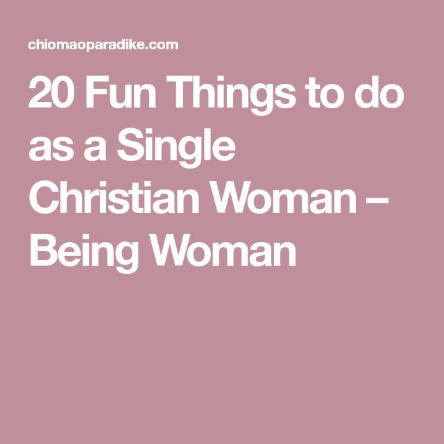 Things to do when dating christian dating