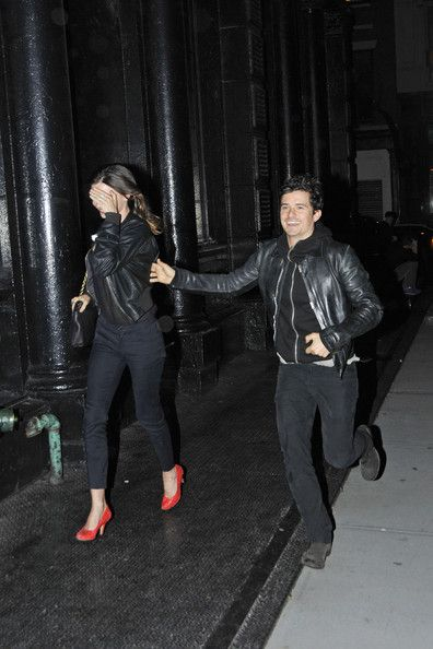 Orlando Bloom - Orlando Bloom and Miranda Kerr at the Sunshine Theater