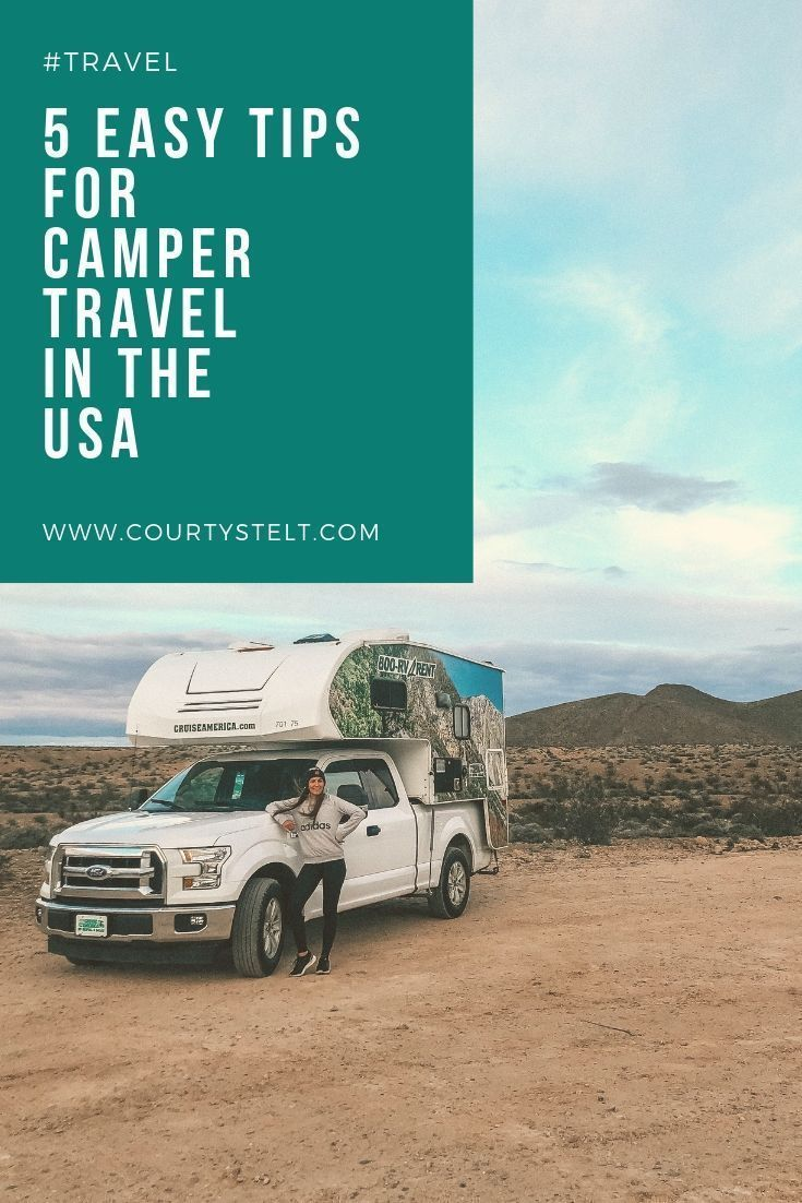 5 Tips For Camper Travel In The Usa Nevada Travel Travel Fun