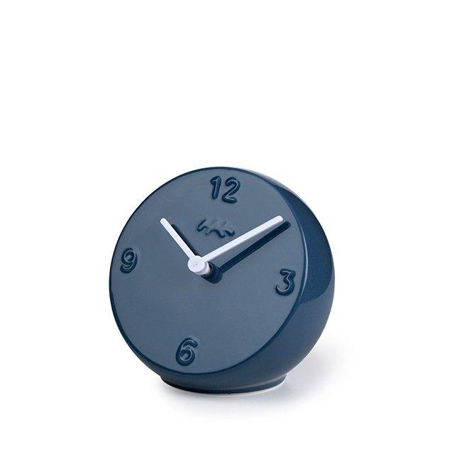 Ora Table Clock Pigeon/White