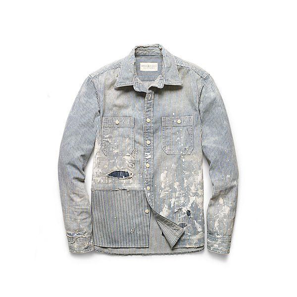 Tompkins デニム ワークシャツ ・ メンズ シャツ ・ アパレル ・ メンズファッション通販 | Denim & Supply - Ralph Lauren Japan (ラルフローレン)