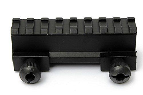 Chariot Trading  8 Slot Tactical Scope Riser Base Mount 20mm Adapter ** Click image for more details.