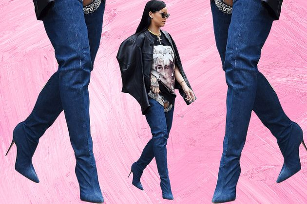 DIY Jean Boots Are Officially a Thing, Here's How to Make Your Own from essence.com