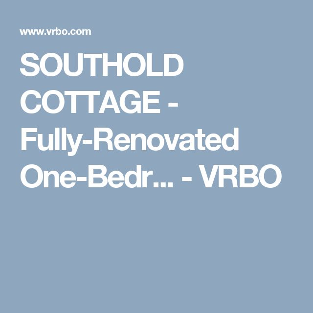 SOUTHOLD COTTAGE - Fully-Renovated One-Bedr... - VRBO