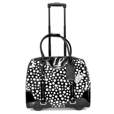 Shop Staples® for Cabrelli & Co. 15.6'' Patent Polka Dot Rolling Laptop Case, Black and enjoy everyday low prices, and get everything you need for a home office or business. Get free shipping on orders of $45 or more and earn Air Miles® REWAR