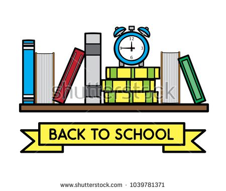 back to school cartoon illustration , cartoon design style , designed for illustration