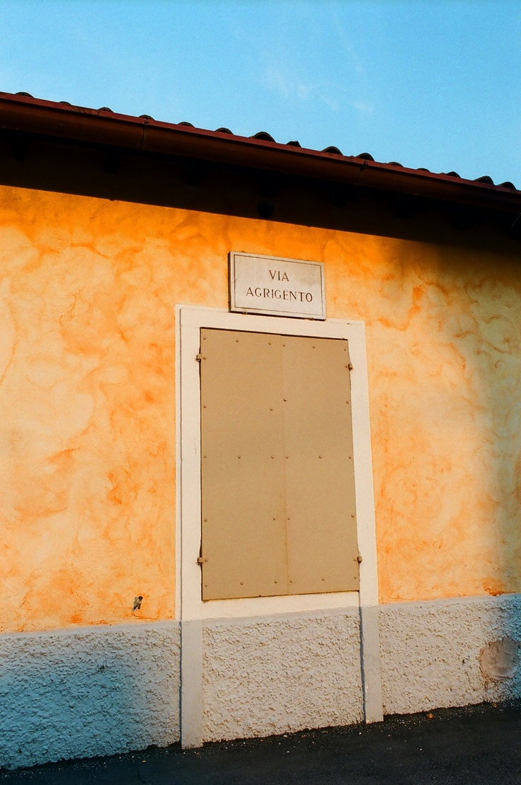 Verona - Borgo Nuovo, via Agrigento. Casette del Villaggio Dall'Oca.