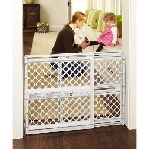 Baby Safety Gate Adjustable Door Lock Pressure Or Hardware Mount Pet Barrier #NorthStates