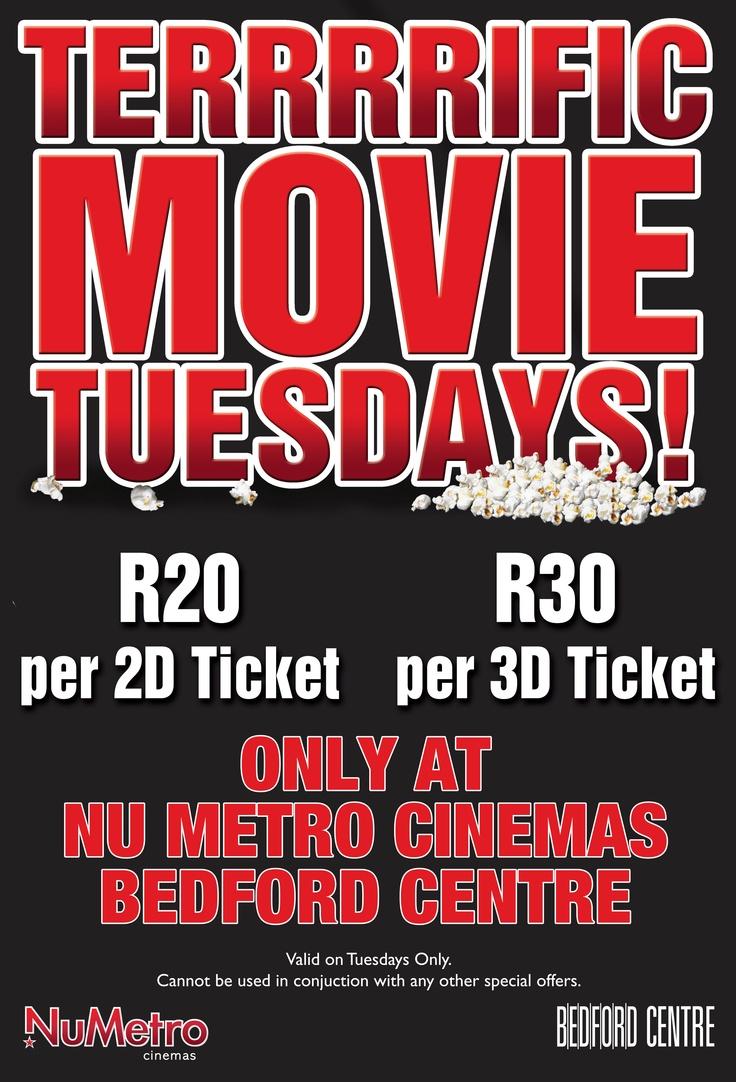 Terrrrific Movie Tuesdays: Bedford Centre