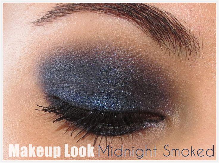 Makeup Look (Smoked Series) | Midnight Smoked | Urban Decay Smoked Palete