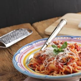 -Style Pasta With Eggplant, Tomatoes, And Ricotta Salata (Pasta Alla ...