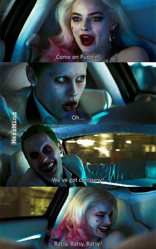 When Batman ruins date night!