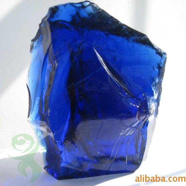 Clair et naturel couleur bleu Cobalt laitier verre Rocks Gabion et aménagement paysager à domicile-image-Verre de construction-Id du produit:1956140388-french.alibaba.com