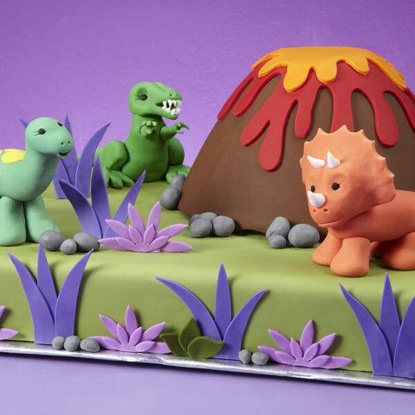 Dinosaur Birthday Cake Wilton: 27 Best Sam-A-Saurus! Images On Pinterest