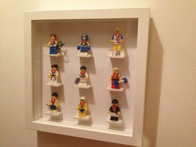 65 best ikea ribba shadow boxes images on pinterest good for Ikea display box