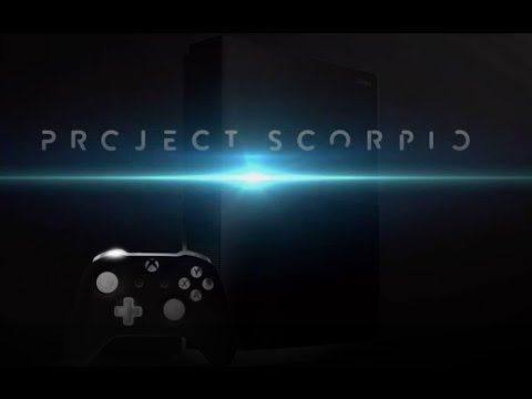 XBOX SCORPIO Has Been 2 Years in The Making Already