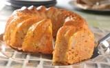 Arroz al forno  Otra presentación que le puedes dar al delicioso arroz es el de hornearlo en un molde de rosca. La presentación te invitará a comerlo de forma inmediata.