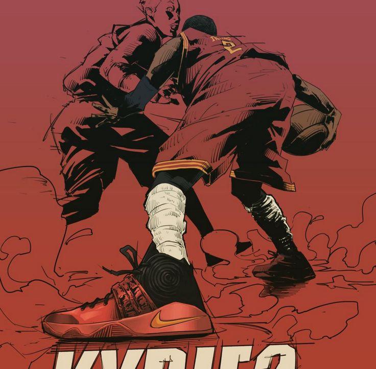 Kyrie Irving Killer Crossover Illustration