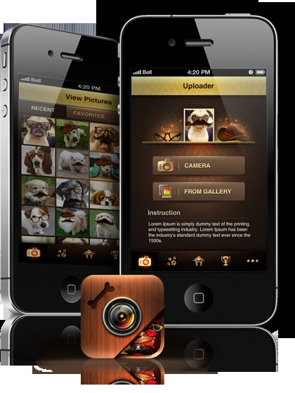 Download our App we created!! Have fun dressing up your pups!! xoxo