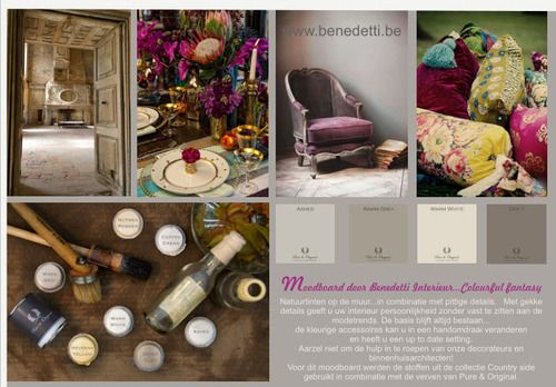 11 best Benedetti Interieur ♥ Moodboards by Vital Celen for ...