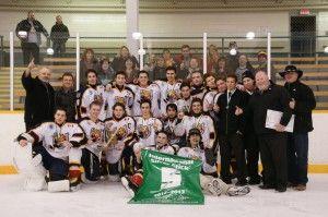 Hockey Teams Battling and Winning Through Thick and Thin