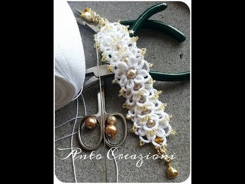 "Tutorial perline: bracciale ""Band"" con superduo/Tutorial beading: ""Band"" bracelet - YouTube"