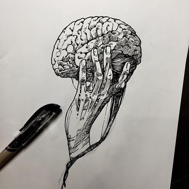 25 best ideas about brain tattoo on pinterest anatomy