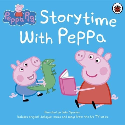 Peppa Pig: Peppa Goes Camping! An extract from the audiobook CD Storytime with Peppa. A collection of thirteen fantastic stories based on Peppa Pig, the hit TV show, featuring newly recorded narration, original TV dialogue, music, and special effects from the Milkshake and Nick Jnr. series.