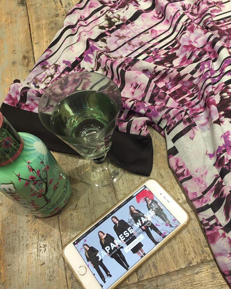 "#WednesdayInspiration • The beauty of the land of the rising sun straight in our ""Japanese Wave"" collection ! #matfashion #fallwinter2016 #collection #ootd #style #inspiration #arizonatea #arizonagreece #arizonaicedteagreece #fashion #cherry #blossom (Κωδικός 661.1292)"