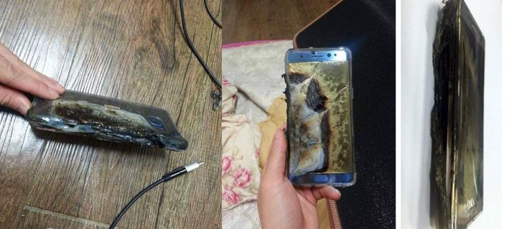 Samsung Galaxy Note 7 explodeaza in timpul incarcarii – livrarile catre…