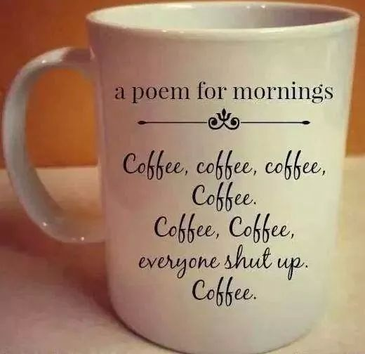A poem for mornings...