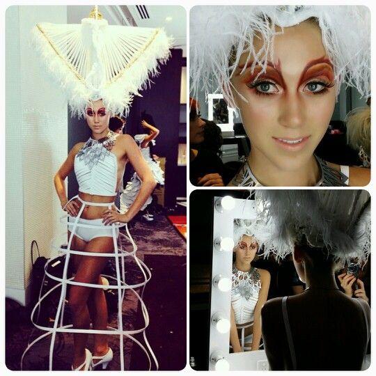 Hair Expo 2014. Makeup by Graduate Sharon Min