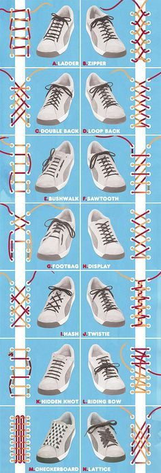 So kann man Schuhe immer mal wieder anders aussehen lassen.