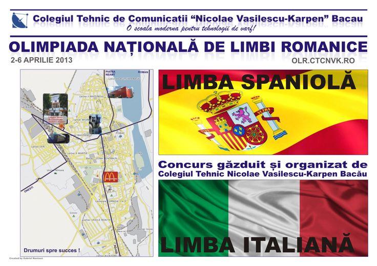 Olimpiada Națională de Limbi Romanice 2013