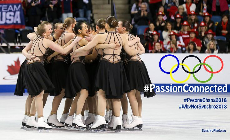 #WhyNotSynchro2018 #synchronizedskating #PassionConnected