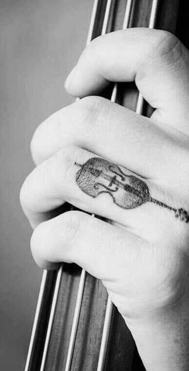 So cool! #cello #tattoo