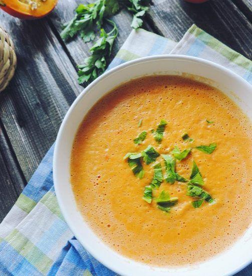 суп-пюре из тыквы рецепты с фото со сливками