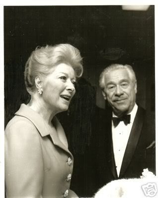 they are at an award ceremony in 1969-the UCLA awards if i ... Greer Garson And Husband