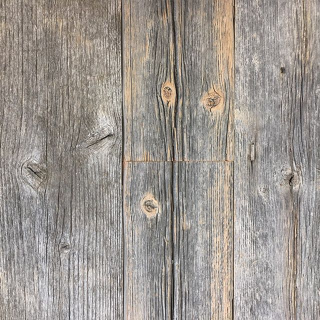 Reclaimed from antique barn sidings, these boards are weather-worn and deep grained making them an  extremely desirable reclaimed, naturally aged option.