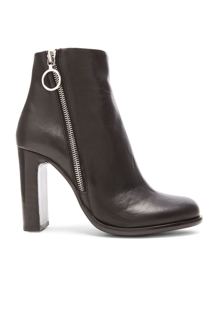 Image 1 of rag & bone Avery High Leather Boots in Black