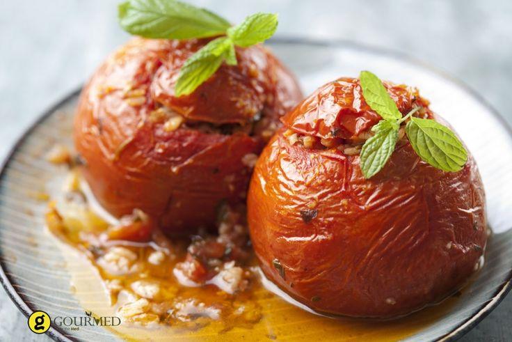 Ντομάτες γεμιστές - Γεμιστά - gourmed.gr