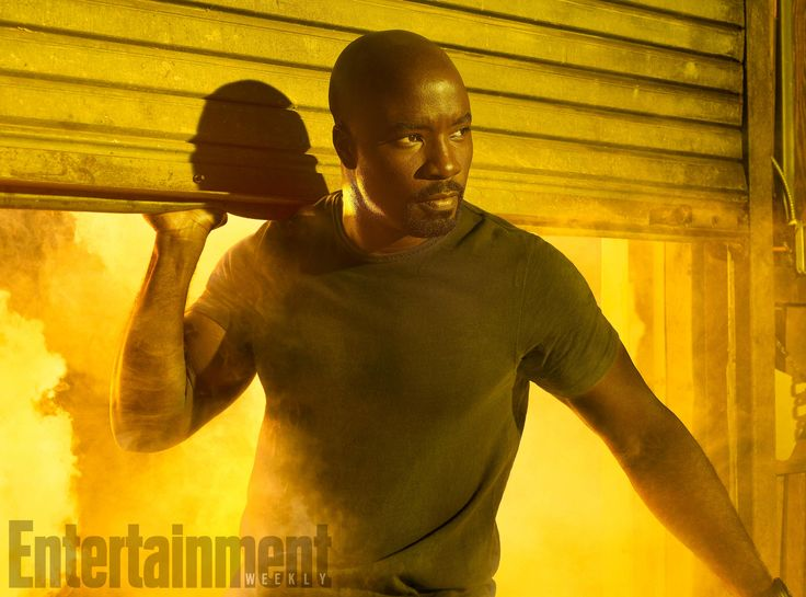 The Defenders, Mike Colter (as Luke Cage), photographed for Entertainment Weekly on December 10th, 2016,