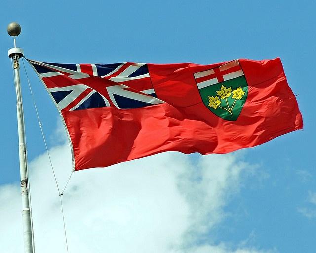 Ontario flag #GILoveOntario