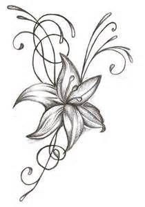 Dessin Fleur Croquis De Fleurs Dessin Fleur Et Comment