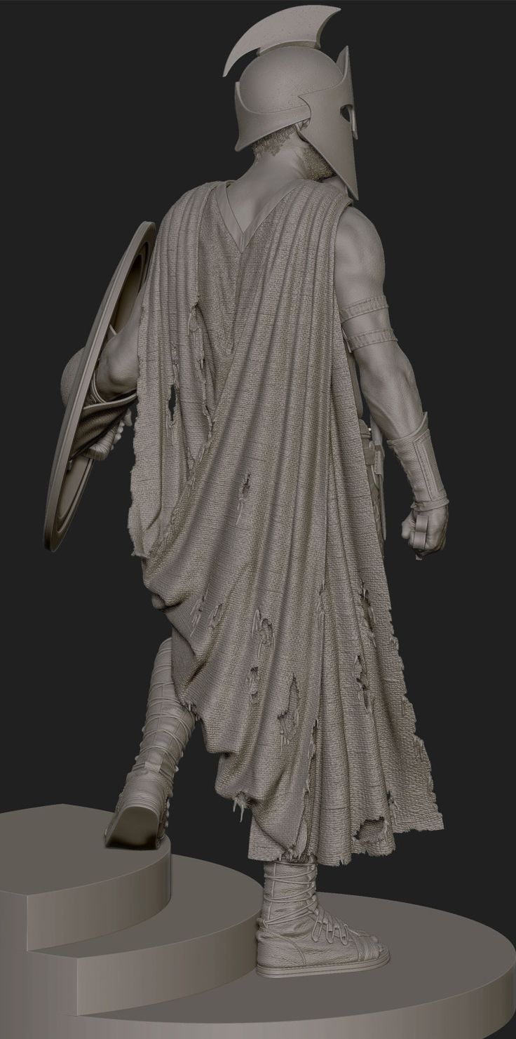 Artemesia collectible statue from the film 300: Rise of an Empire. Portrait uses scanned reference. All other parts are from scratch. Created while I was at Gentle Giant Studios.
