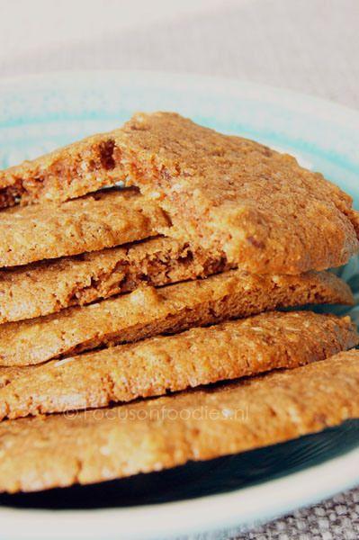 Glutenvrije en suikervrije Kaneel Koekjes