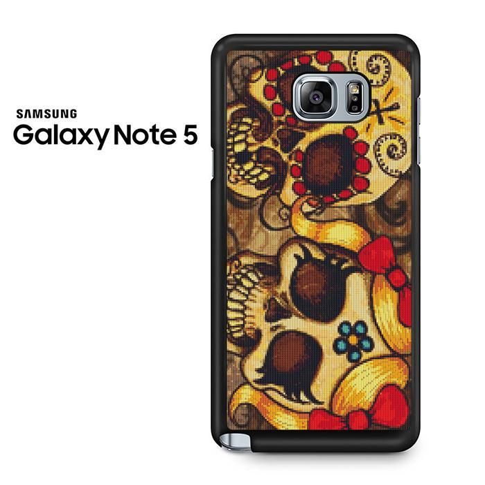 Day Of Dead Cross Stitch Couples Samsung Galaxy Note 5 Case