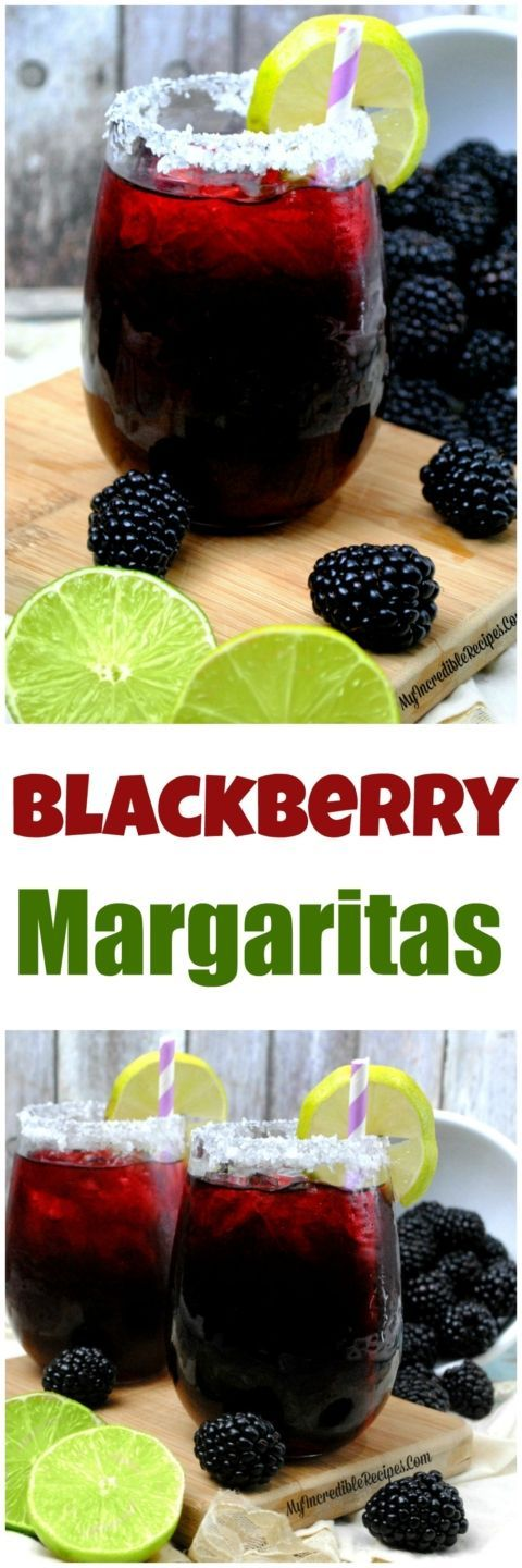 pinterestblackberrymargaritas #cocktailrecipes